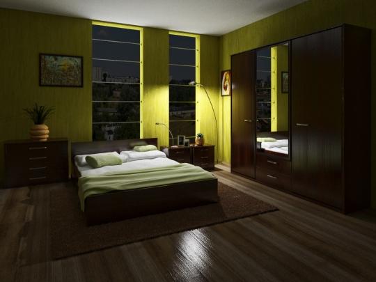 Спальная ночь 3D MAX