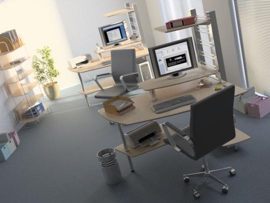 Офис 3d max